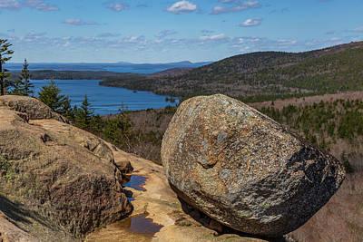 Acadia Np - Bubble Rock Art Print