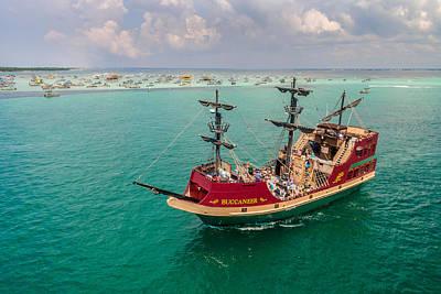 Photograph - Buccaneer Pirate Ship by Jason Ellis