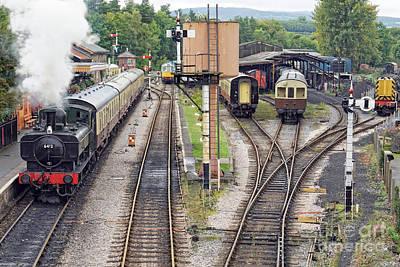 Photograph - Buckfastleigh Departure by David Birchall