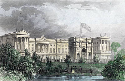 Buckingham Palace Art Print by Hulton Archive