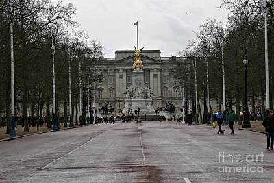 Photograph - Buckingham Palace Viewed from the Mall by Knelstrom Ltd