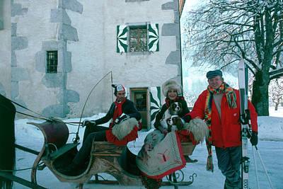 Photograph - Buckleys In Switzerland by Slim Aarons