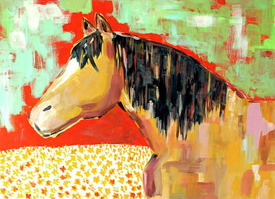 Wall Art - Painting - Buckskin by Kaley Alie