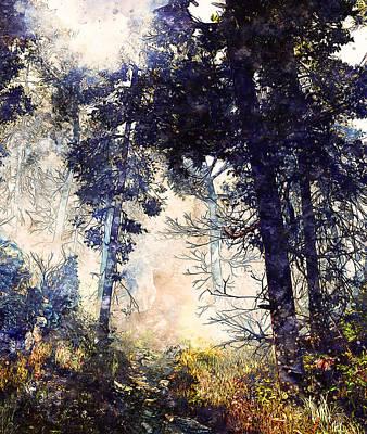 Painting - Bucolic Paradise - 26 by Andrea Mazzocchetti