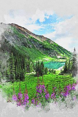 Painting - Bucolic Paradise - 30 by Andrea Mazzocchetti