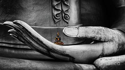 Photograph - Buddha Hand Thailand by Adrian Evans