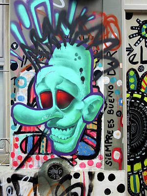 Photograph - Buenos Aires Street Art 21 by Kurt Van Wagner