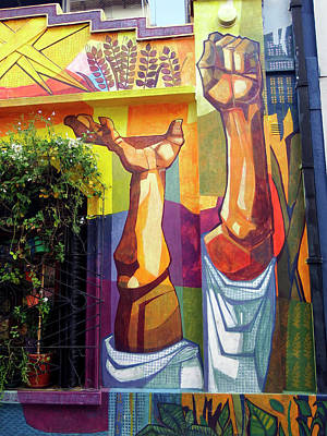 Photograph - Buenos Aires Street Art 22 by Kurt Van Wagner