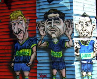Photograph - Buenos Aires Street Art 24 by Kurt Van Wagner