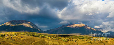 Photograph - Buffalo And Silverthorne by Jon Burch Photography