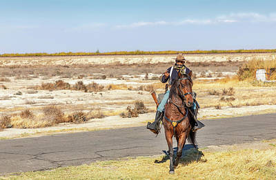 Photograph - Buffalo Soldier 2018 - Allensworth State Park  by Gene Parks