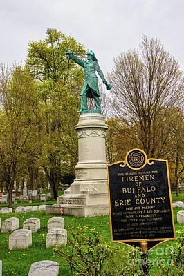 Kids Alphabet - Buffalo Volunteer Fire Department Buffalo NY by Jim Lepard
