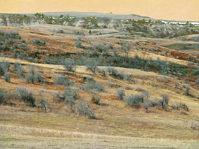 Photograph - Buffaloberry Hill Reverie by Cris Fulton