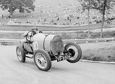 Photograph - Bugatti T13 Brescia In Action, Prescott by Heritage Images