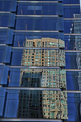 Photograph - Building Reflections # 2 by Allen Beatty