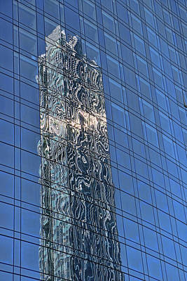 Photograph - Building Reflections # 3 by Allen Beatty