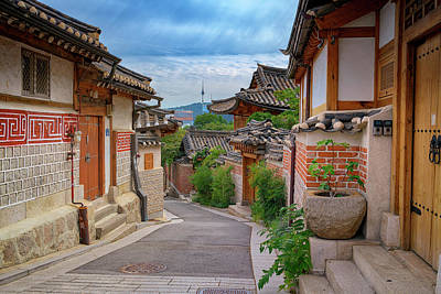 Photograph - Bukchon Hanok Village by Rick Berk