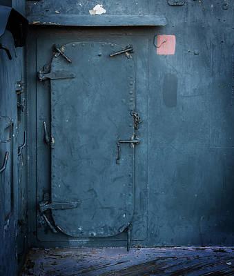 Photograph - Bulkhead And Door by Bud Simpson