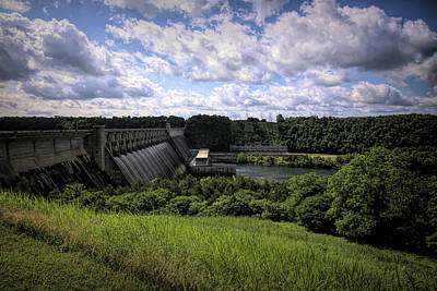 Classic Christmas Movies - Bull Shoals Dam by Judy Vincent