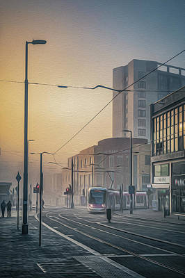 Photograph - Bull Street Tram No 1 by Chris Fletcher