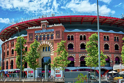 Photograph - Bullring In Barcelona by Eduardo Jose Accorinti