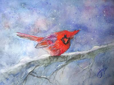 Painting - Bundled Up by Jeri McDonald