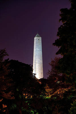 Photograph - Bunker Hill Monument - Boston by Joann Vitali