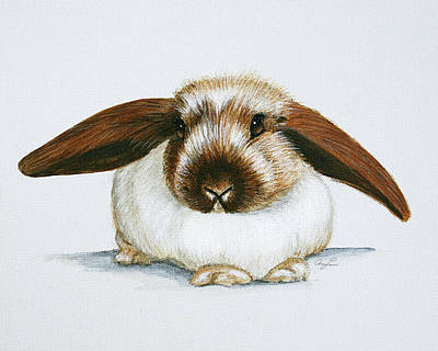 Painting - Bunny 3 by Ann Lauwers