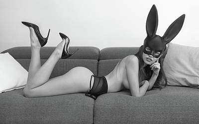 Photograph - Bunny by Justin Gage