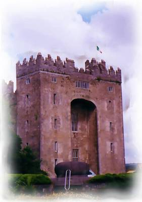 Digital Art - Bunratty Castle Painting by JlowPhotos