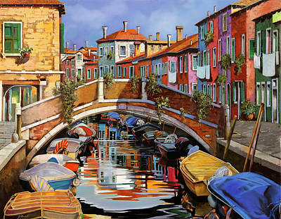 The Masters Romance Royalty Free Images - Burano e i colori Royalty-Free Image by Guido Borelli
