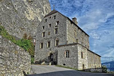 Photograph - Burg Martinsbuehel At The Foot Of Martinswand, Tirol, Austria by Elzbieta Fazel