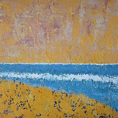 Painting - Burkes Beach Original Painting by Sol Luckman