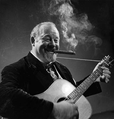 Photograph - Burl Ives by Baron
