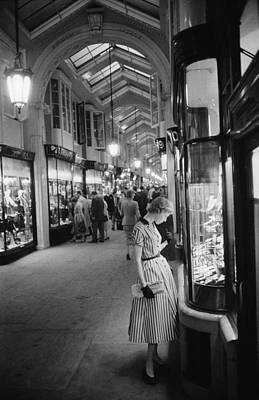 Photograph - Burlington Arcade by Slim Aarons