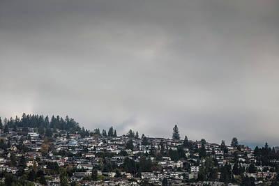 Photograph - Burnaby Hill by Juan Contreras
