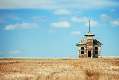Photograph - Burnham Schoolhouse by Todd Klassy