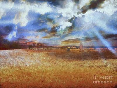 Photograph - Burning Sand  by Leigh Kemp