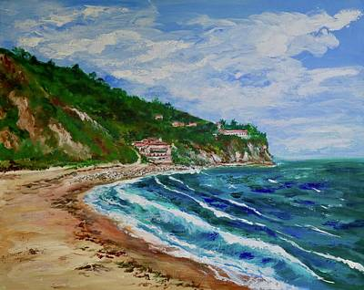 Painting - Burnout Beach, Redondo Beach California by Tom Roderick