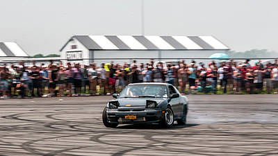 Wall Art - Photograph - Burnouts For The Crowd by Robert Goodwin