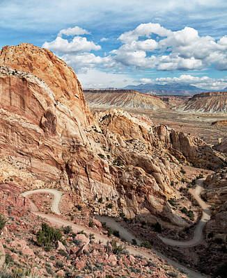 Photograph - Burr Trail And Beyond by Kathleen Bishop