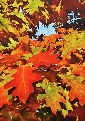Winter Animals - Burst of Autumn by Michael Malta