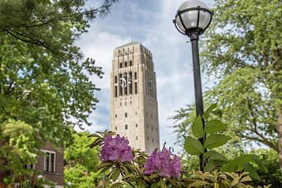 Photograph - Burton Memorial Tower University Of Michigan  by John McGraw