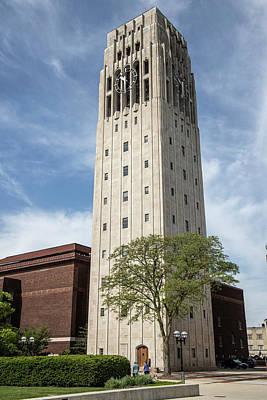 Photograph - Burton Tower University Of Michigan 1 by John McGraw