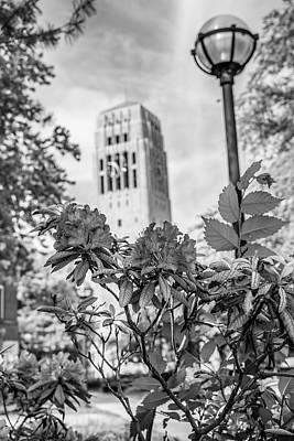 Photograph - Burton Tower University Of Michigan by John McGraw