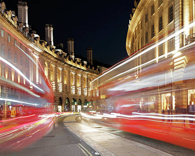 Photograph - Bus Pass by Nicholas Blackwell