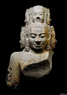 Photograph - Bust Of Hevajra by Weston Westmoreland