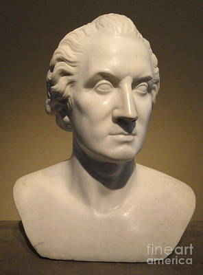 Painting - Bust Portrait Of George Washington by Horatio Greenough