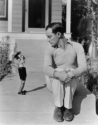 Photograph - Buster Keaton by Hulton Archive
