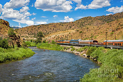 Photograph - Busy Day On The River by Jon Burch Photography
